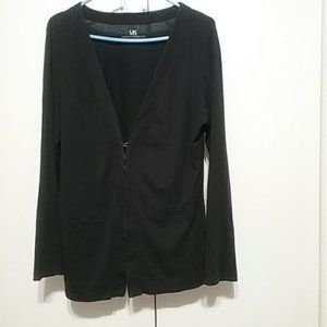 FRENCH CONNECTION BLK LONGSLEEVE CARDIGAN